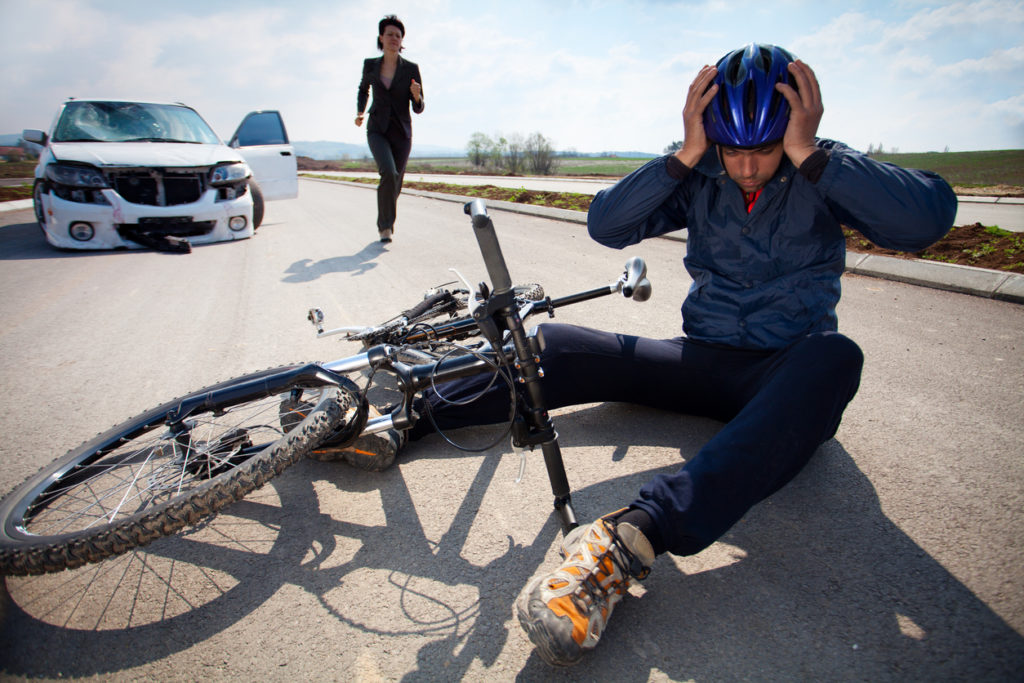 Acupuncture treatment for bicycle accidents